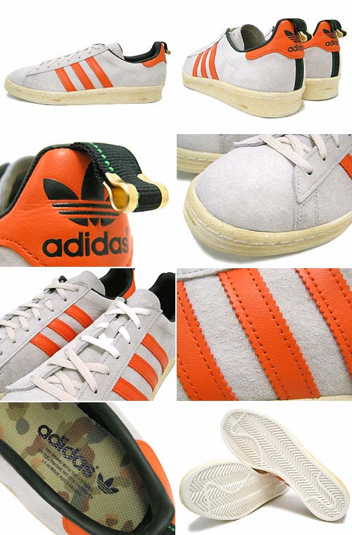 adidas CAMPUS 80s [BLISS/ORANGE/LEGACY] G96464 写真1