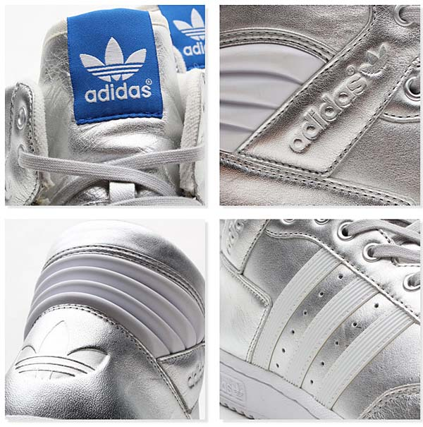 adidas Originals PRO CONFERENCE HI [METALLIC SILVER/RUNNING WHITE] G96913 写真2
