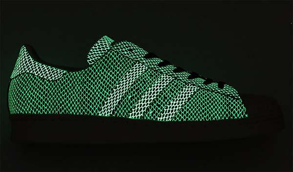 adidas Originals x atmos SS 80s G-SNK 6 [NAVY/WHITE/SNAKE/GLOW] M22303 写真2