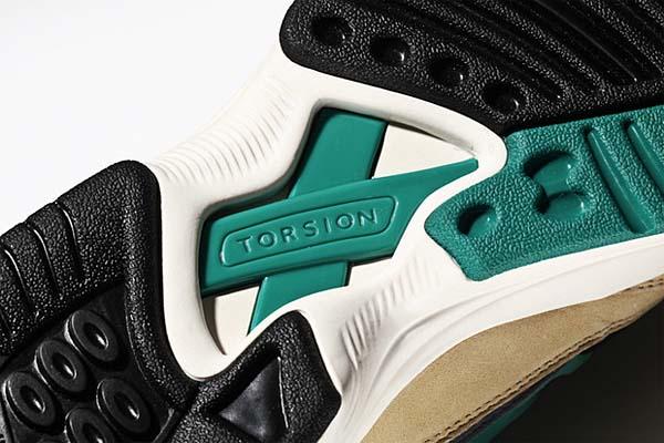 adidas Originals TORSION ALLEGRA MITA [BGE/BLK/GRN] M22308 写真2