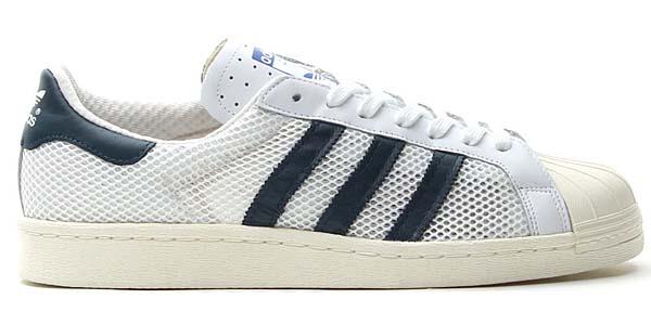 adidas originals SS 80s [RUNNING WHITE/DARK PETROL] Q20310 写真1