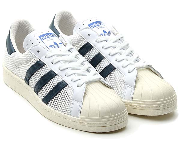 adidas originals SS 80s [RUNNING WHITE/DARK PETROL] Q20310
