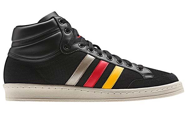 adidas Originals AMERICANA HI 88 [BLACK/SUNSHINE/VIVID RED] Q20354 写真1
