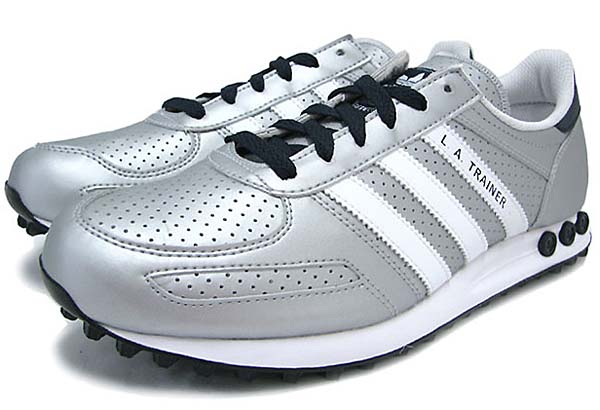 adidas Originals LA TRAINER [Metallic Silver/White/Legend Ink] Q20738