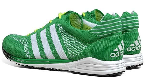 adidas adizero PRIMEKNIT [PRIME GREEN/RUNNING WHITE] Q21791 写真1
