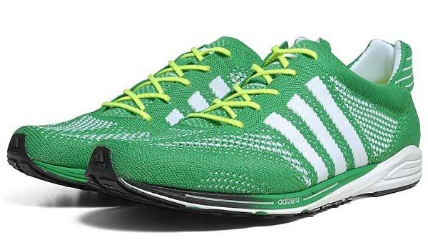 adidas adizero PRIMEKNIT [PRIME GREEN/RUNNING WHITE] Q21791