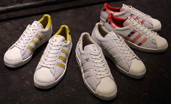 adidas Originals SUPER STAR 80s - B.I.T.D.- [White Vapour/Legacy/Bliss] Q21803 写真3