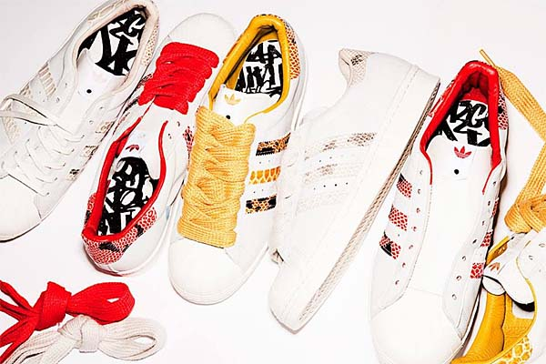 adidas Originals SUPER STAR 80s - B.I.T.D.- [White Vapour/Legacy/Bliss] Q21803 写真4