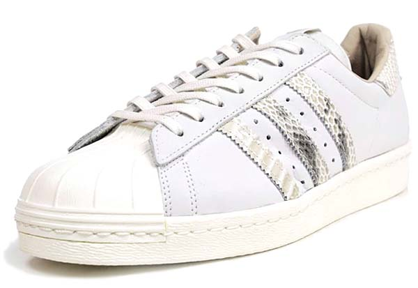 adidas Originals SUPER STAR 80s - B.I.T.D.- [White Vapour/Legacy/Bliss] Q21803