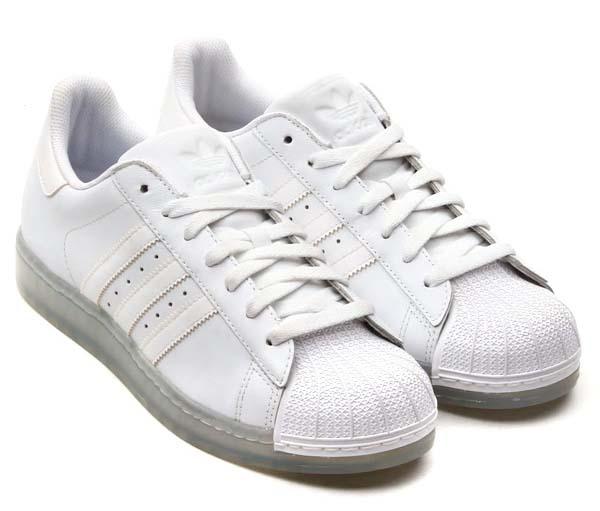 adidas SS CLEAR [RUNNING WHITE/RUNNING WHITE] Q23001 写真1