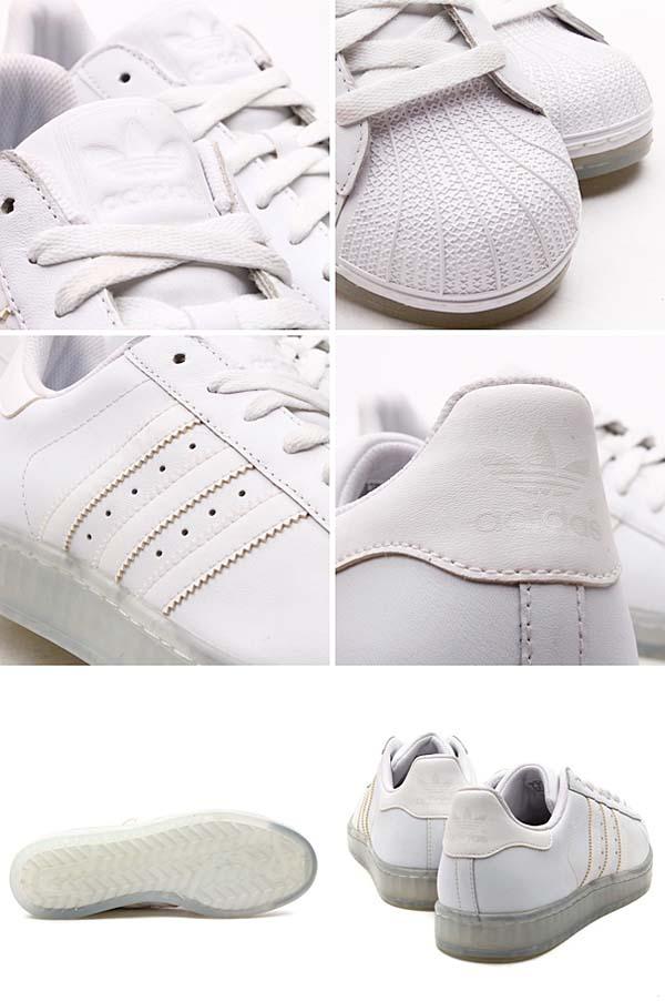 adidas SS CLEAR [RUNNING WHITE/RUNNING WHITE] Q23001 写真2