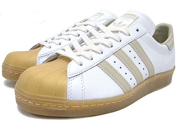 adidas SUPER STAR 80s GUM OUTSOLE [WHITE/BLISS/GUM] Q23003