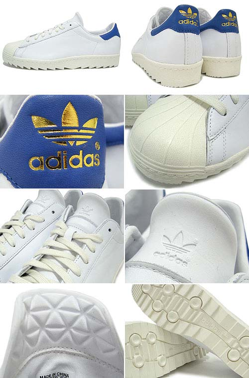 adidas SUPER STAR 80S RIPPLE [WHITE/LEGACY] Q23012 写真1