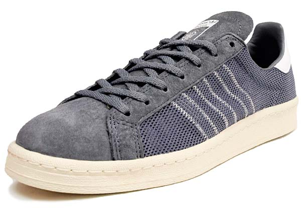 adidas x KAZUKI CAMPUS 80s 84-LAB [TECH GREY/SUPPLIER COLOUR/LIGHT BONE] Q23085 写真1