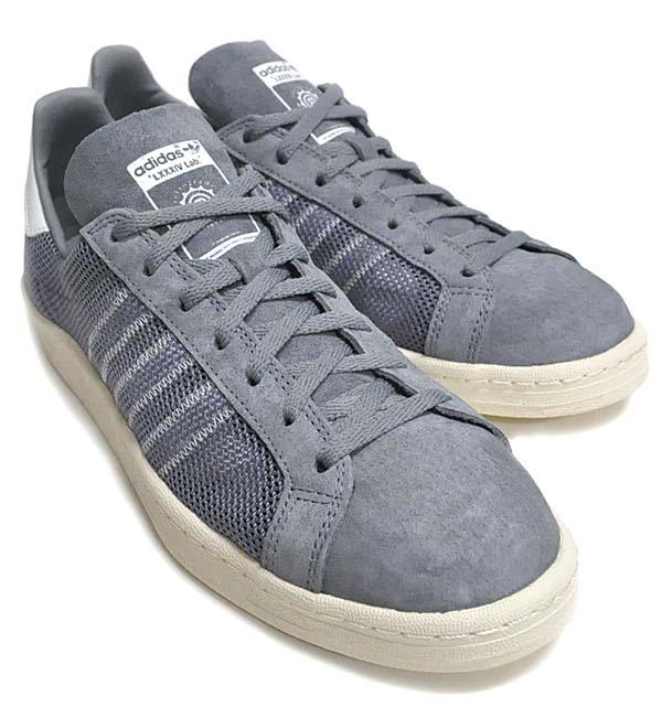 adidas x KAZUKI CAMPUS 80s 84-LAB [TECH GREY/SUPPLIER COLOUR/LIGHT BONE] Q23085