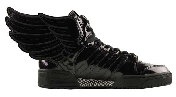 adidas Originals x Jeremy Scott JS WINGS 2.0 [BLACK/RUNING WHITE] Q23668 写真2
