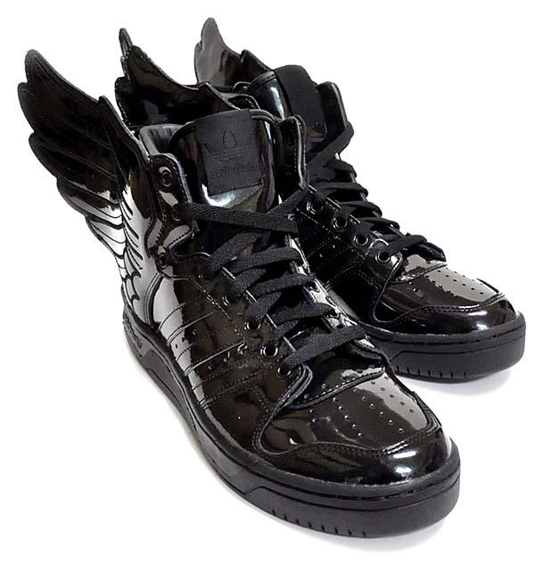 adidas Originals x Jeremy Scott JS WINGS 2.0 [BLACK/RUNING WHITE] Q23668