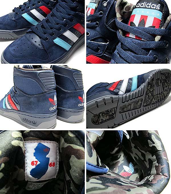 adidas originals x PACKER SHOES CONDUCTOR HI [NEW JERSEY AMERICANS] Q32536 写真2