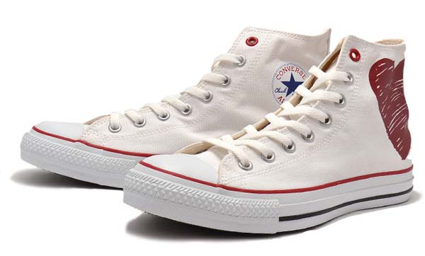 CONVERSE ALL STAR B-HT HI [WHITE] 32067970 写真1