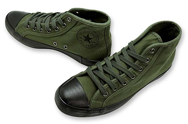 CONVERSE ALL STAR ARMYSHOES MID [OLIVE] 32164544 写真1