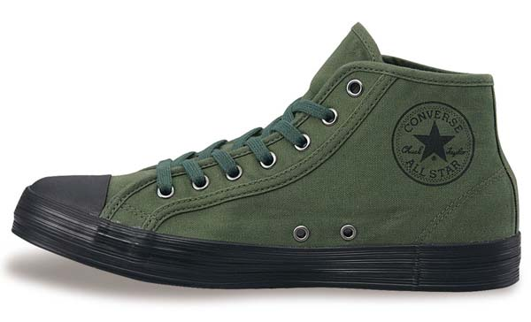 CONVERSE ALL STAR ARMYSHOES MID [OLIVE] 32164544