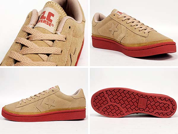 CONVERSE XL PRO-LEATHER SUEDE DB OX XLARGE [BEIGE] 32656984 写真1