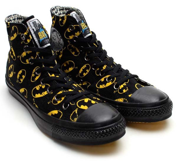 CONVERSE ALL STAR BM HI [BATMAN/BLACK] 32662031