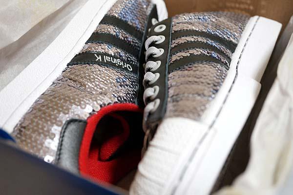 mi adidas mi SS II [SPANGLE] miss2 ボックスの中でキラめくマイシューズ