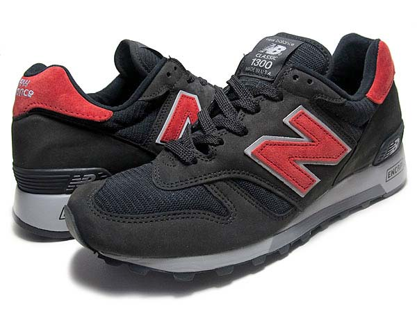 new balance M1300CL BB [BLACK/RED] M1300 BB 写真1
