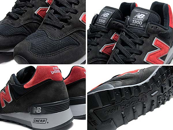new balance M1300CL BB [BLACK/RED] M1300 BB 写真2