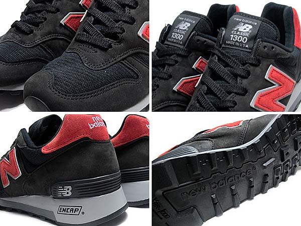 new balance M1300CL BB [BLACK/RED] M1300 BB 写真2