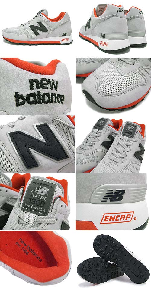 new balance M1300 GD [Grey/ORANGE] M1300 GD 写真1