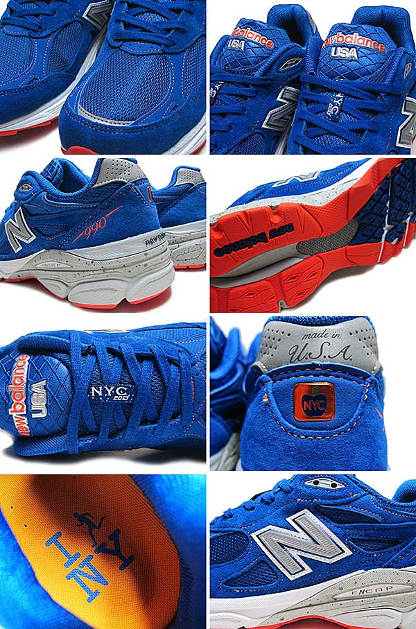 new balance M990 NM3 NYC MARATHON [BLUE/ORANGE] M990 NM3 写真1
