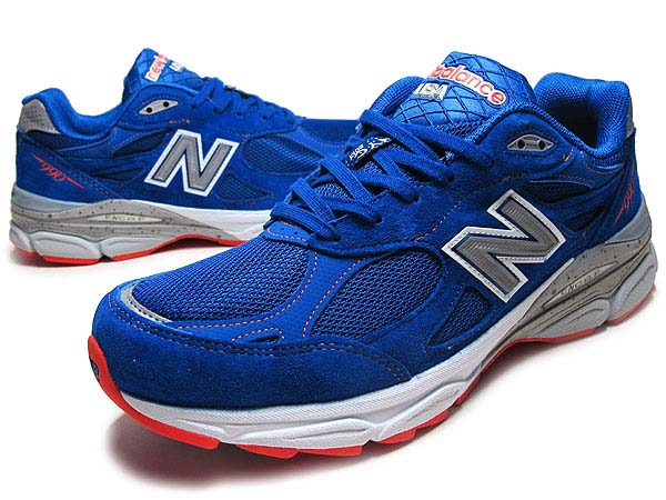 new balance M990 NM3 NYC MARATHON [BLUE/ORANGE]