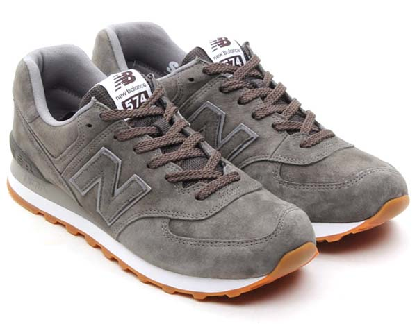 new balance ML574 FSC [CHARCOAL/GUM]