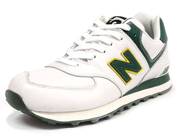 new balance ML574 NGY [WHITE/GREEN]