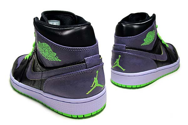 NIKE AIR JORDAN 1 RETRO ALL STAR [BLACK/ELCTRC GRN-CNYN PRPL-PR V] 136065-021