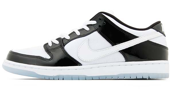 NIKE DUNK LOW PRO SB CONCORD [BLACK/WHITE-ICE BLUE-DRK CONCORD] 304292-043