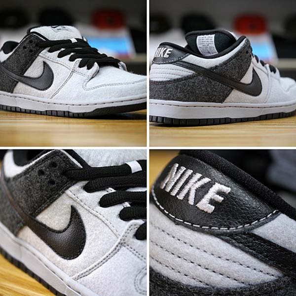 NIKE DUNK LOW PREMIUM SB [WOLF GREY/BLACK-BLACK] 313170-015