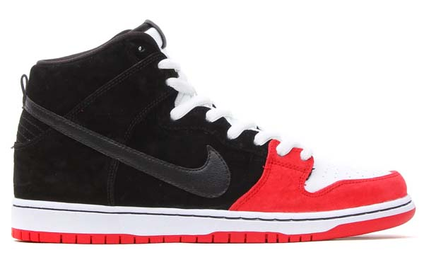 NIKE DUNK HIGH PRM SB UPRISE [BLACK-BLACK/UNIVERSITY-WHITE] 313171-061