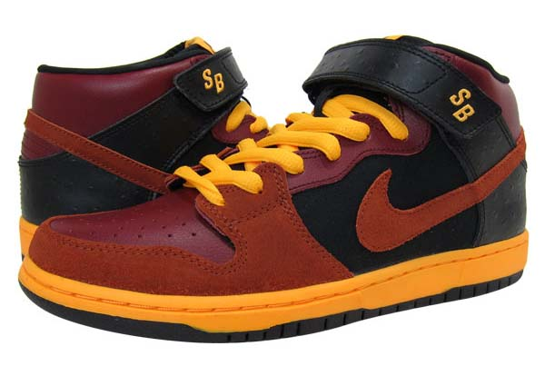 NIKE DUNK MID PRO SB [TEAM RED/ORANGE/BLACK] 314383-680