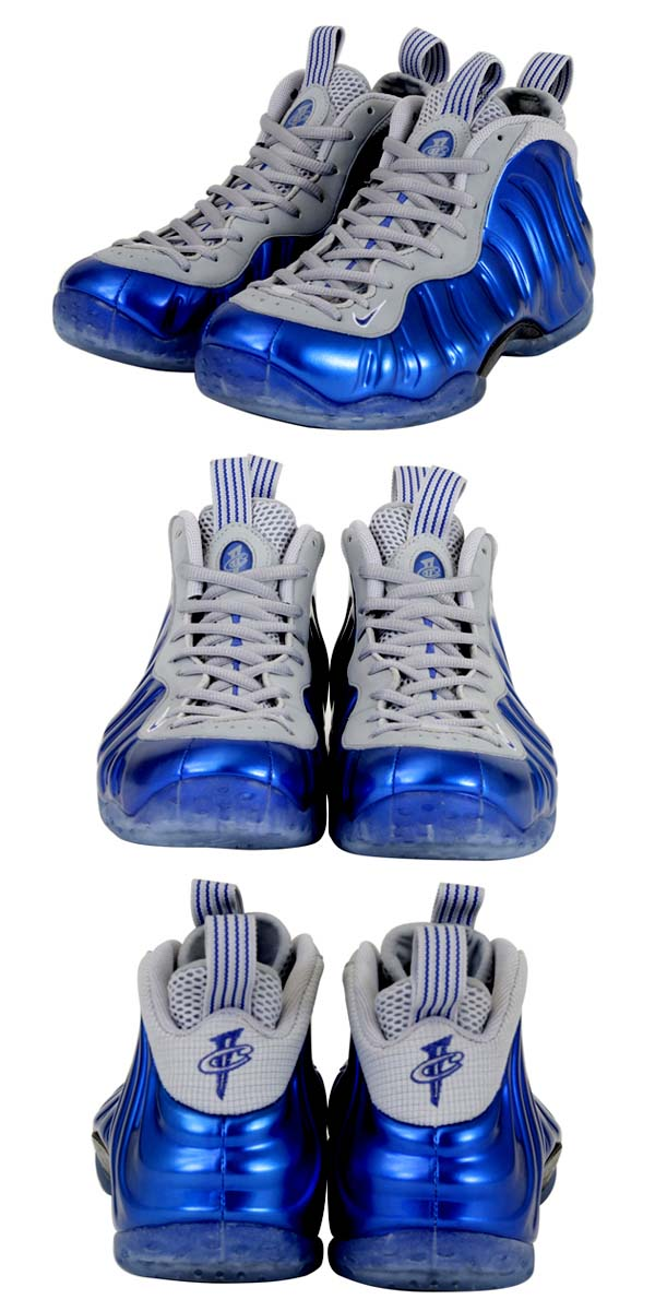 NIKE AIR FOAMPOSITE ONE [SPORT ROYAL/GAME ROYAL-WLF GRY] 314996-401