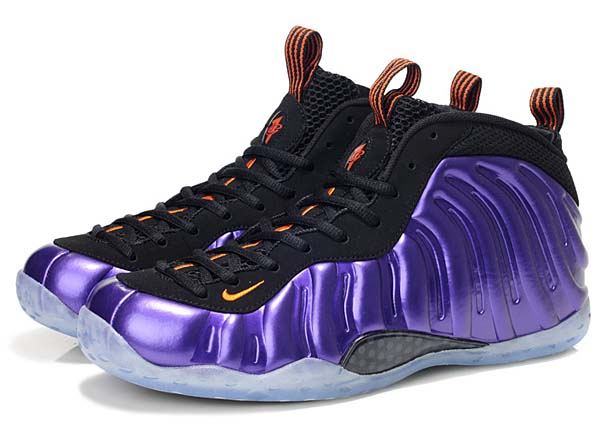 NIKE AIR FOAMPOSITE ONE [ELECTRIC PURPLE/TOTAL ORANGE-BLACK] 314996-501