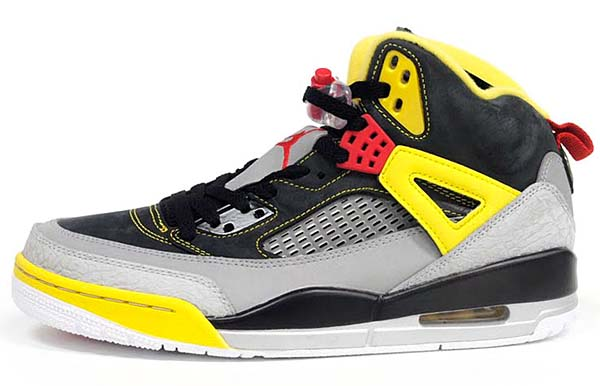 NIKE AIR JORDAN SPIZIKE [BLACK/CHALLENGE RED/LT BRITISH TAN-KHAKI] 315371-050