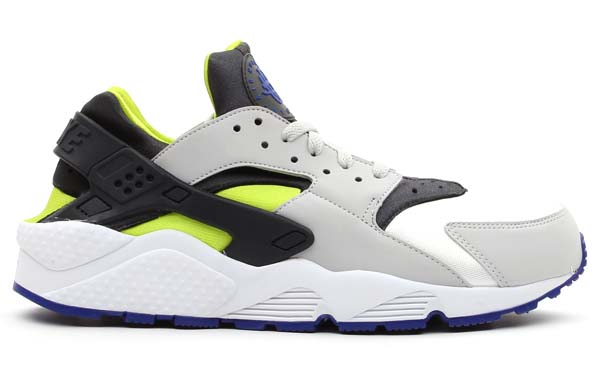 NIKE AIR HUARACHE [WHITE/CYBER-ANTHRACITE] 318429-130