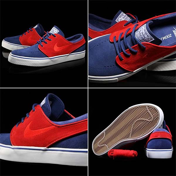 NIKE SB ZOOM STEFAN JANOSKI [DEEP ROYAL BLUE/UNIVERSITY RED] 333824-406