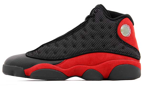 NIKE AIR JORDAN 13 RETRO BRED [BLACK/VARSITY RED-WHITE] 414571-010