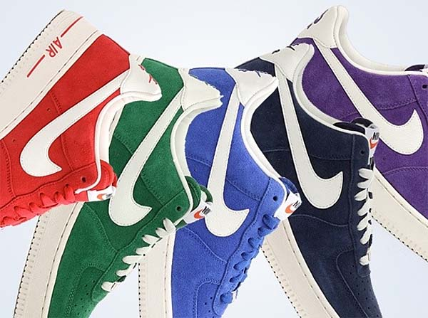 NIKE AIR FORCE 1 LOW 07 BLAZER PACK [PINE GREEN/SAIL] 488298-308