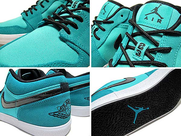 NIKE AIR JORDAN V.2 LOW [NEW EMERALD/BLACK/WHITE] 552312-303