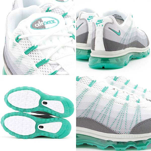 NIKE AIR MAX 95 DYN FW [WHITE/ATMC TEAL-DRK GRY-CL GRY] 554715-130